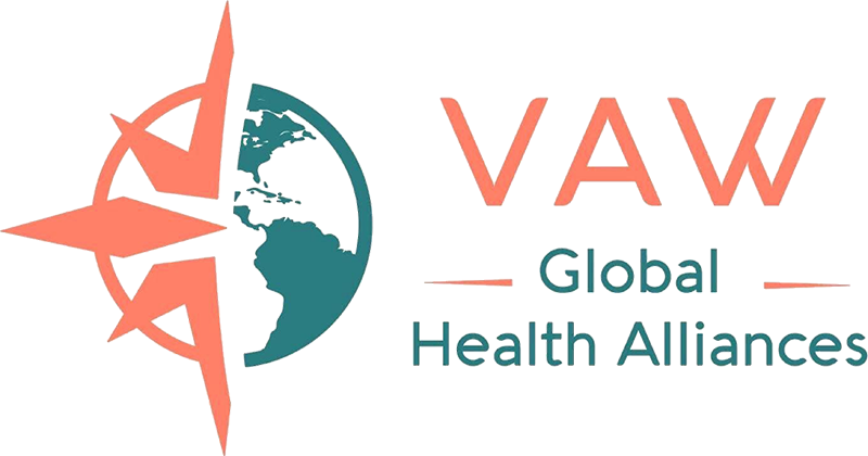 Volunteers Around the World (VAW) Global Health Alliances logo